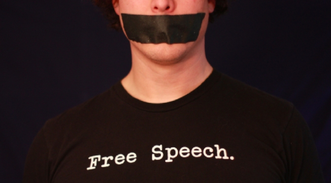 Video highly censored on Facebook about first amendment rights.