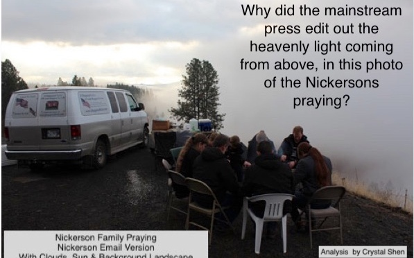 Nickerson Prayer Photo Edited by Mainstream Media Manipulators